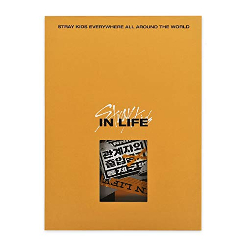 STRAY KIDS 1st Repackage Album - IN生 (IN LIFE) [ B type. ] CD + Photobook + Photocards + Postcard + FREE GIFT