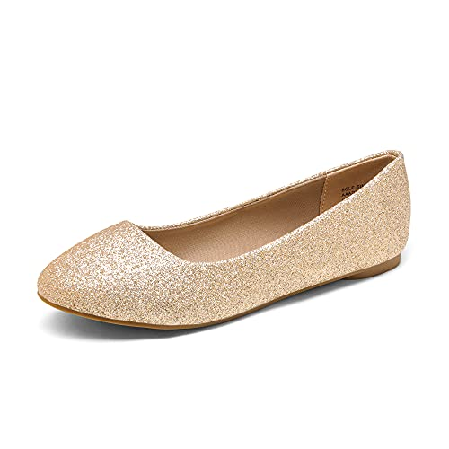 Top 10 best selling list for silver and gold women flats shoes