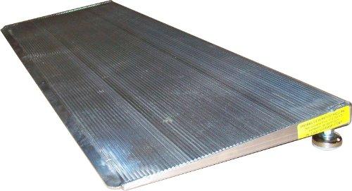 """PVI ELEV8 Adjustable Leg Aluminum Threshold Ramp, 12"""" x 32"""" 800 lb Capacity"""