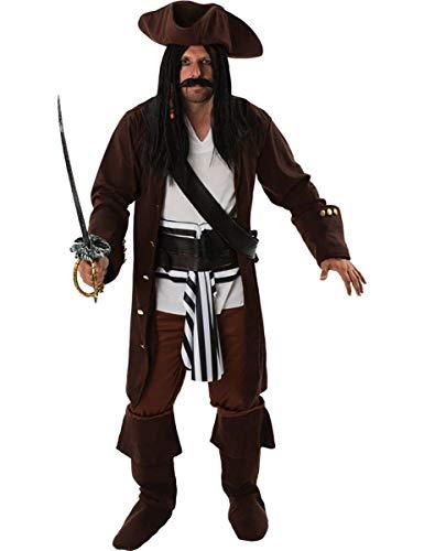ORION COSTUMES Disfraz de Pirata para Hombres