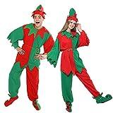 Il costume da elfo per adulti viene fornito con un set completo di cappello, top, pantaloni, cintura, scarpe e fascia da collo Il nostro favoloso costume natalizio ELF di Babbo Natale è l'ideale per Halloween, feste e altri eventi. Certo, la cosa più...