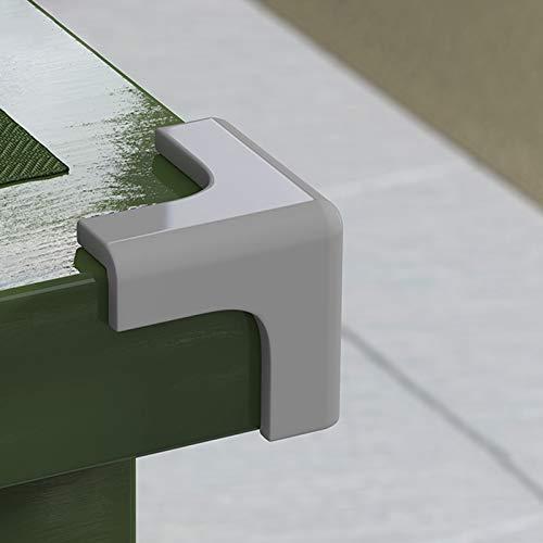 protector esquinas,protector esquinas mesa,Diseño anticolisión,de tres lados,material de PVC,fácil de limpiar,saludable y duradero,adecuado para campanas extractoras,todo tipo de bordes de mue