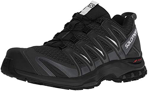 Salomon XA Pro 3D, Zapatillas de Trail Running para Hombre, Negro (Black/Magnet/Quiet Shade), 40 2/3 EU
