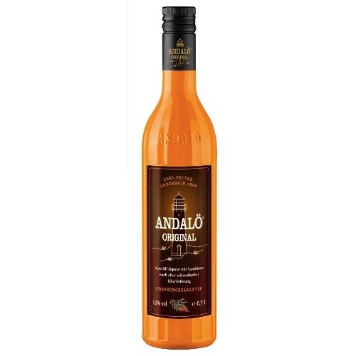 Andalö 6 x 0,7l Andalö Sanddorn-Liqueur in der 0,7l Glasflasche 15% vol