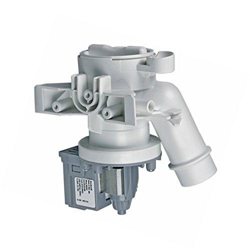 Candy Hoover 41018403 ORIGINAL Ablaufpumpe Magnetpumpe Entleerungspumpe Wasserpumpe Schmutzwasserpumpe Waschmaschinenpumpe Magnettechnikpumpe Laugenpumpe Pumpe 25 W Askoll Waschmaschine auch Zerowatt