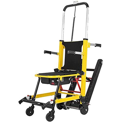 Silla de ruedas eléctrica plegable para subir y bajar escaleras, escalera para subir y bajar escaleras eléctricas Silla sobre orugas Silla para subir escaleras Silla de r