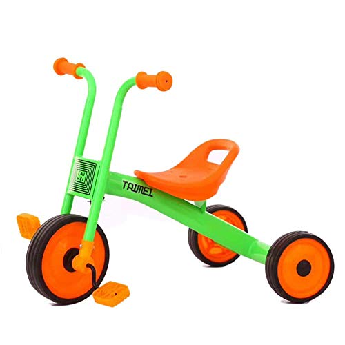 Sale!! Zjnhl Children's Fun/Children Tricycle Simple Style EVA Soft Wheel 2-5years (Color : Green)
