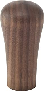 Espresso Coffee Tamper Handle Classic Walnut Short (without Base)