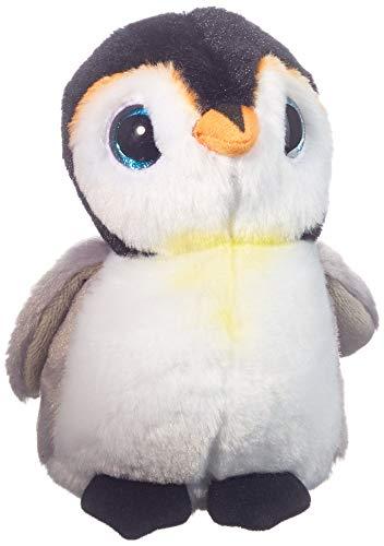 Carletto Ty T42121 Pongo Penguin Plüschtier, Weiß/Grau