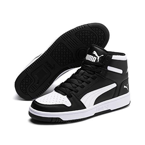 Puma Unisex-Erwachsene Rebound LayUp SL Sneaker, (Puma Black-Puma White 01), 44 EU
