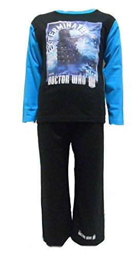 Doctor Who Jungen Schlafanzug Altersgruppen 5-6 Jahre Daleks