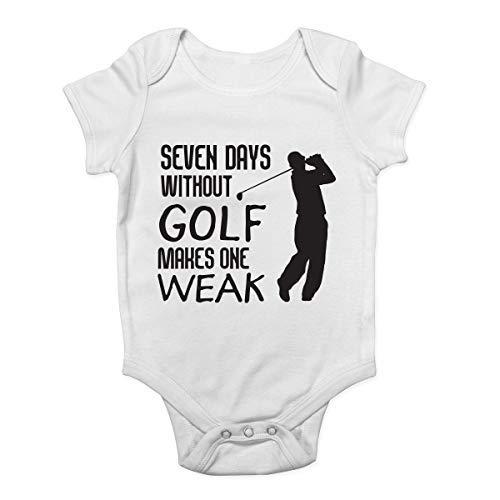 Promini Body pour bébé 7 jours sans golf - Blanc - 9 mois
