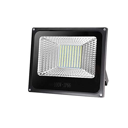 HUOQILIN 120W LED Flood Light (200W équivalent) Daylight Stadium Lights IP66 Étanche Luminaire De Sécurité Extérieur étanche pour L'éclairage du Tunnel Routier (Pack De 2)