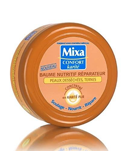 Mixa Confort Karité - Baume Nutritif Réparateur pour Peaux desséchées / Ternes - 200 ml