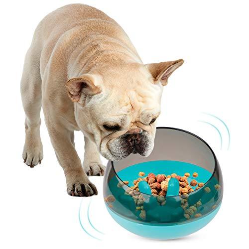 FancyWhoop Ciotola Cani Mangiare Lento Animali Domestici interattiva Come Anti Ingozzamento