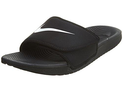 Nike KAWA Slide (GS/PS) Dusch- & Badeschuhe, Schwarz (Black/White 001), 33.5 EU
