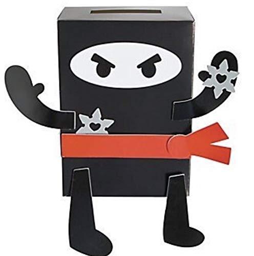 Valentine Classroom Sharing Ninja Card Holder Craft Kit