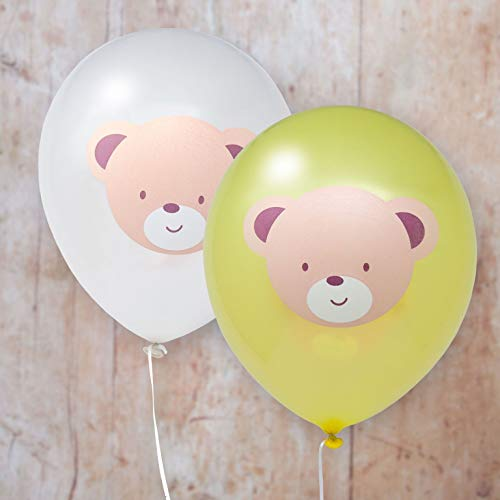 Hatton Gate Teddy Bear Bedruckte Latexballons mit 8 Luftballons pro Packung