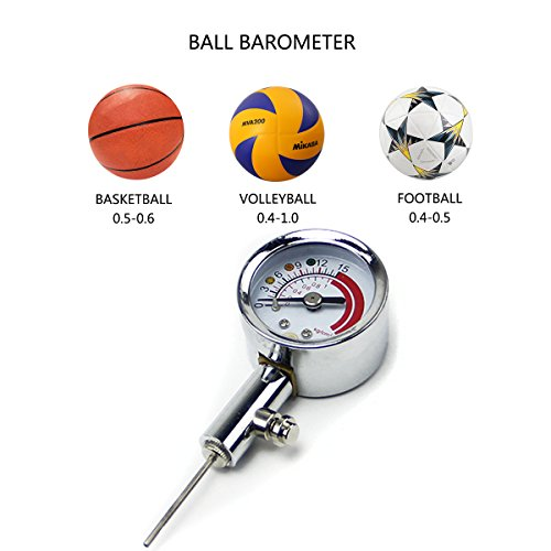 ADESUGATA Medidor de Presión de Bomba de Aire para Balón de Fútbol ...