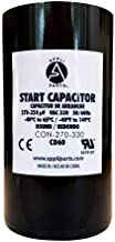 Appli Parts Start Capacitor 270-324 Mfd (microfarads) uF 330VAC 1-13/16 in. Wide 4-3/8 in. Height CON-270-330 Replaces CAP-270-330