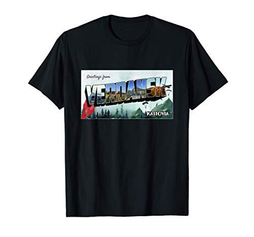 Welcome to Verdansk - Gaming Gulag Warzone Verdansk T-Shirt