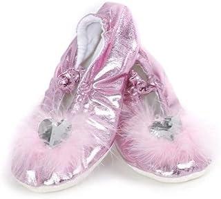 Creative Education's Pink Princess Slippers Size Medium by Great Pretenders [並行輸入品]