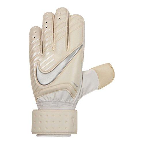 NIKE Spyne Pro Soccer Goalkeeper Gloves (11, White/Chrome)