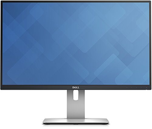 DELL U2515H ADZG 25-Inch LCD Monitor, 350 cd/m2, 2560 x 1440 at 60 Hz, IPS, 8ms, HDMI/DP/Mini DP/USB