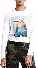 Ls Graphic Tee-B - Camiseta para Hombre