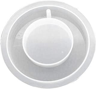 SUPVOX Molde de fundición de joyería Molde de silicona de resina Molde de silicona con orificio para colgar de la joyería Pulsera brazalete Herramienta de bricolaje artesanía a mano