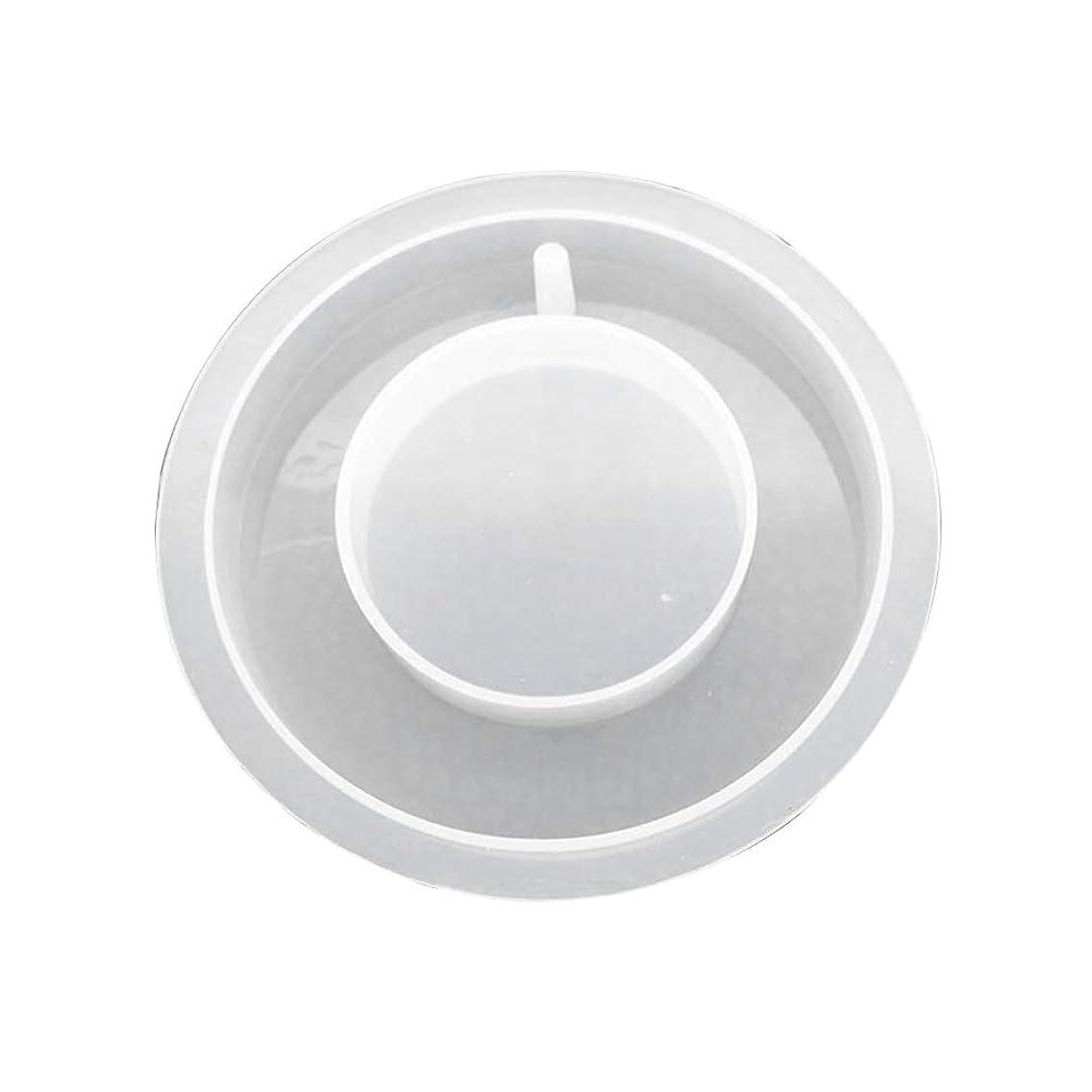 アラスカ処方立法SUPVOX 樹脂シリコーンリング形状ペンダントクリスタルエポキシ金型でぶら下げ穴石鹸キャンドル用diyギフトジュエリーネックレスペンダント作り