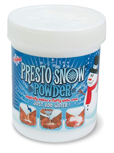 Presto Snow MTPS100 - Neve istantanea, 100 g, Colore: Bianco