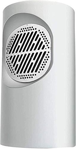 Winter Energy Saving Portable Electric Calentador Ventilador Encimera Mini Home Room Conveniente y Rápido Ahorro de Energía Calefacción de Cerámica PTC de Invierno,Calentador Blanco/Blanco