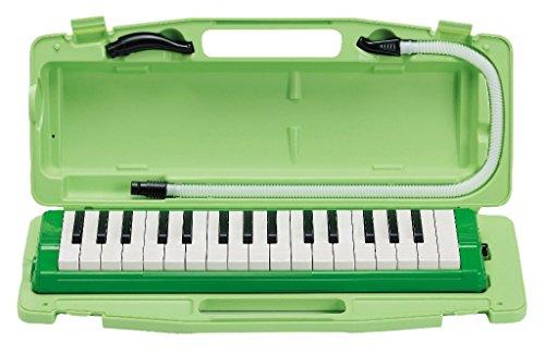 ゼンオン 鍵盤ハーモニカ ピアニー ハードケース入り 323AH GREEN