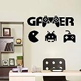Jungen Zimmer Wandtattoo Gamer Wandtattoo Controller