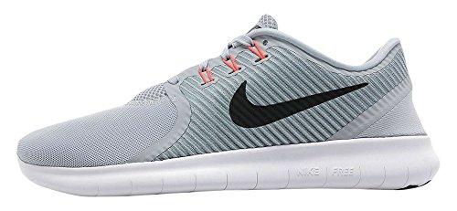 Nike Free RN CMTR, Zapatillas de Running Hombre, Gris (Wolf Grey/Blk-Ttl Crmsn-Cl Gry), 40 1/2