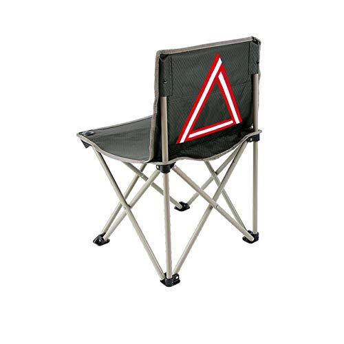 Yuzhijie plegable silla de pesca de ocio al aire libre portátil silla de pesca aparejos de pesca accesorios duraderos y convenientes, B