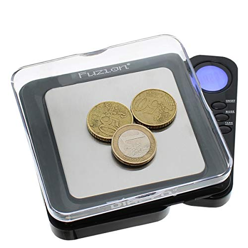 Diablo Professional Digital Mini Scale 100G x 0.01G - Silver by Fuzion