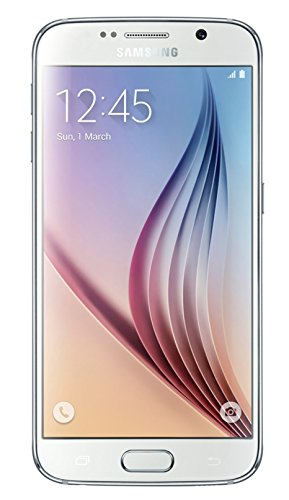 Samsung Galaxy S6 SM-G920A 32GB Unlocked GSM 4G LTE Octa-Core Smartphone w/ 16MP Camera - White (Renewed)