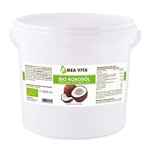 Mea Vita - Aceite De Coco Orgánico, 5000 ml