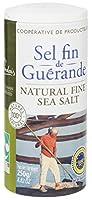 🍃 Issu de l'Agriculture Biologique 🇫🇷 Origine France ✔️ Certifié Nature et Progrès 🧂 Boite verseuse permettant de contrôler de débit de sel utilisé 👐 Récolté à la main