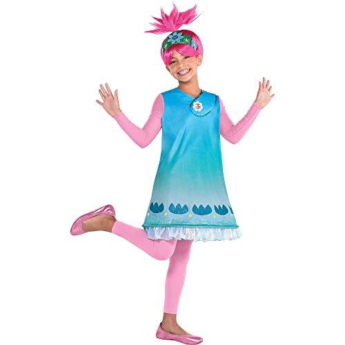 Party City Queen Poppy Halloween Costume for...