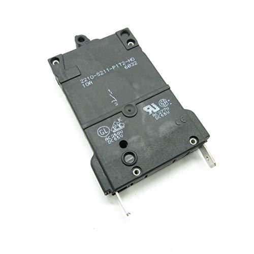 E-T-A Thermisch magnetisch Leistung Schutzschalter 2210-S211-P1T2-H0 10A 1-polig Überlastschalter