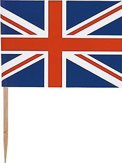Unique Party - Decoraciones de la Magdalena - Diseño de Lo Mejor del  Británico - Paquete de 30 (49157)