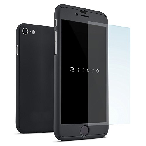 Zendo - NanoSkin UltraSlim - Protector de pantalla, Negro , iPhone 8 Plus / iPhone 7 Plus