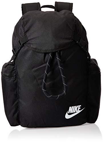Nike Heritage Rucksack Unisex, Black/Black/White, 1size