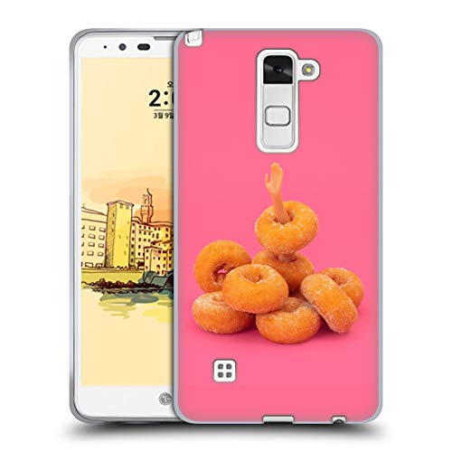 Head Case Designs Officially Licensed Pepino De Mar Donuts Foodie Soft Gel Case Compatible with LG Stylus 2
