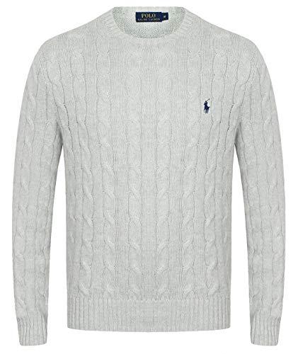 Ralph Lauren Herren Pullover mit Zopfmuster (XL)