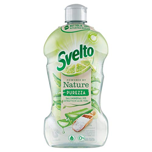 Svelto Powered by Nature Purezza, Sali Minerali ed Estratti di Aloe Vera, 450 ml