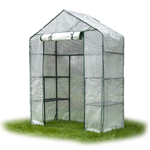 Serres Mini Maison Grandir, Petit Jardinage Portable Couverture végétale Flower Garden Shelter Parfait for Les balcons, des terrasses, des Petits Jardins et Plus.